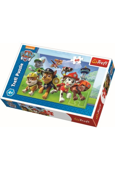 Trefl Puzzle Ready To Action, Paw Patrol 60 Parça Puzzle