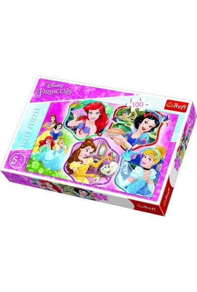 Trefl Puzzle Princesses Charm, Disney 100 Parça Puzzle