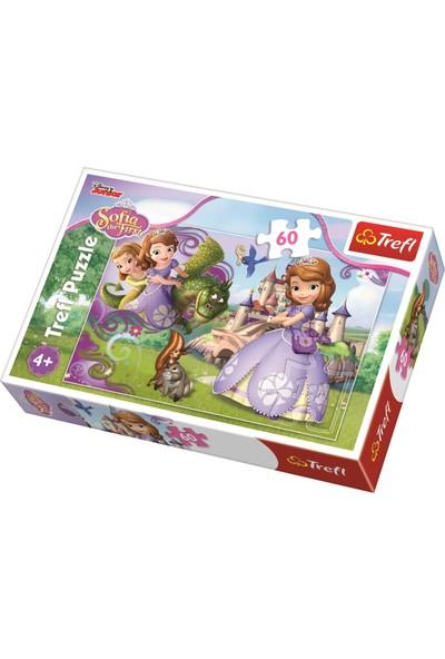 Trefl Puzzle Princess Sofia Adventures, Disney 60 Parça Puzzle