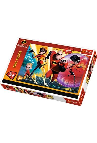 Trefl Puzzle Incredibles 2, Disney 100 Parça Puzzle