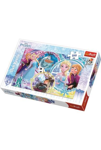 Trefl Puzzle Frozen, Disney 100 Parça Puzzle