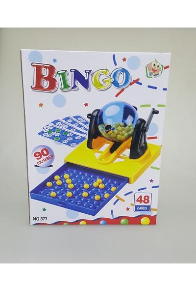Bingo Tombala 48 Kartlı 90 Numaralı Lotto Tombala Yılbaşı Oyunu - Büyük Boy