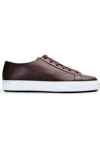 Nevzat Onay Bağcıklı Kahverengi Günlük Erkek Ayakkabı