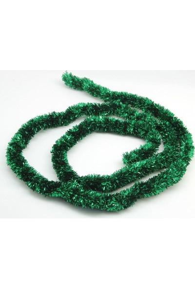 Balonpark 1 Adet Yeşil Boyun Süsü Parlak Yılbaşı Ağacı Süsü