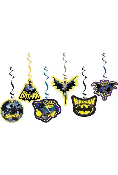 Balonpark 6lı Batman Partisi Konsept Organizasyonu Yazı Süsleri Malzemeleri