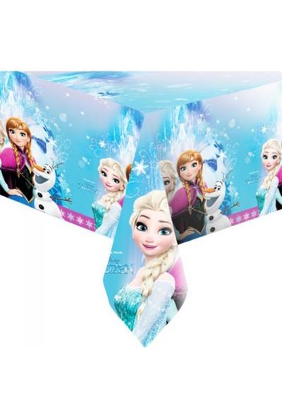 Balonpark Elsa Frozen Karlar Ülkesi Parti Temalı 120cm x 180cm Masa Örtüsü