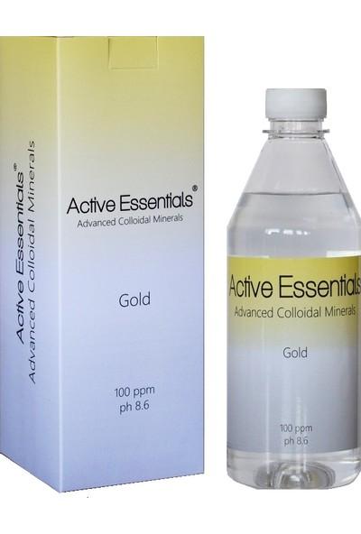 Active Essentials Altın Suyu - Prokolloidal - Active Essentials® 100Ppm 500 ml