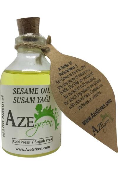 Aze green Susam Yağı %100 Doğal, Saf Ve Katkısız 50 ml
