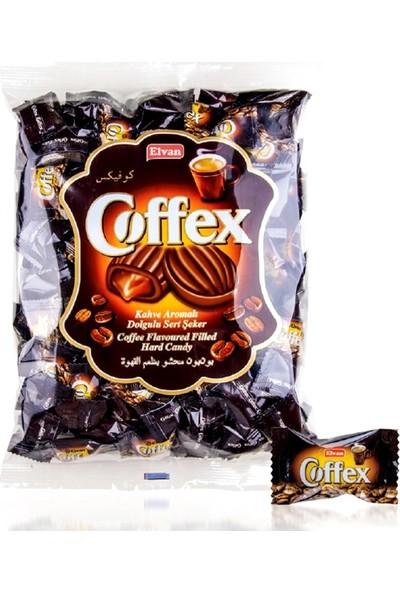 Elvan Coffex Gerçek Kahve Dolgulu Sert Şekerleme 1 kg