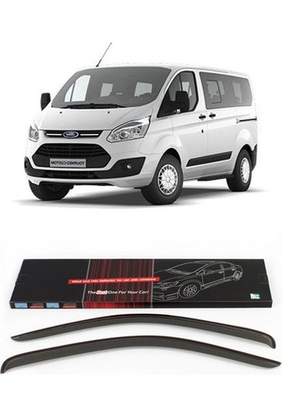 Sunplex Ford Transit Custom Sport Style Cam Rüzgarlık 2014-