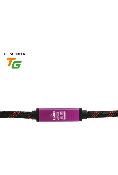 Teknogreen Tkh-50F 50M. High Speed Gold Hdmı Kablo