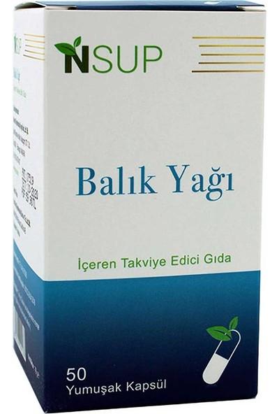 Nsup Omega 3 Balık Yağı (Epa/Dha) 1000 Mg 50 Softjel