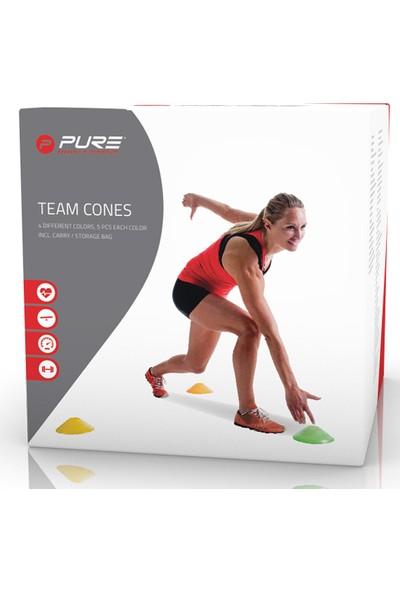 Pure P2I200460 Team Cones Antreman Çanağı 20 Li