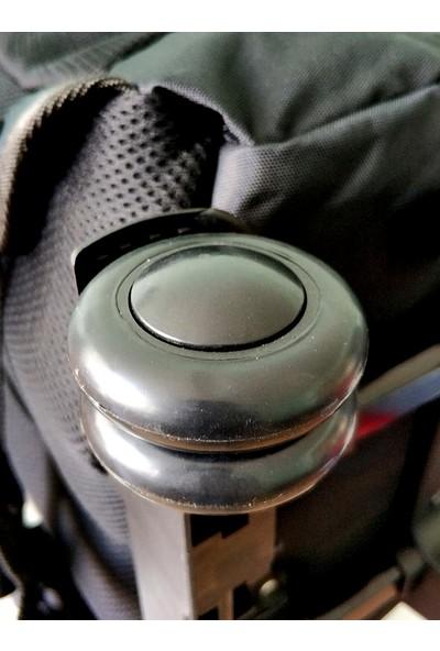 Entegre Çekçekli 17 İnch Notebook Sırt Çantası Outdoor Kademeli Ayak Siyah Ent-001