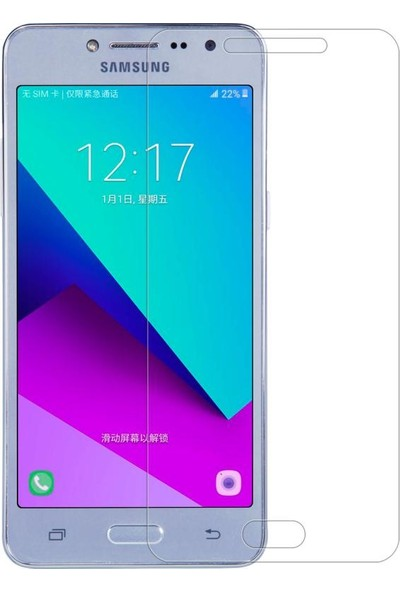 Syronix Samsung Galaxy J2 Prime Cam Ekran Koruyucu 3 Adet