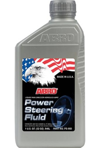 Abro Power Steerıng Fluıd Direksiyon Katkısı 946 Ml. Ps-950