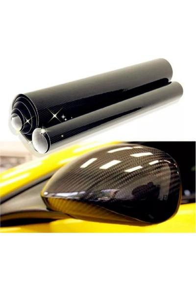 Carbins Vinil 5D Karbon Fiber Siyah Karbon Folyo(Boyut: 1Metre X 152 Cm)