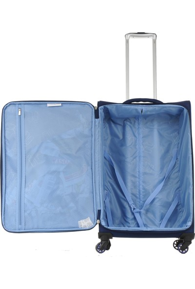 İt Luggage Ultra Light Kumaş Valiz Büyük Boy Lacivert 2152