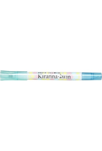 Kirarina Çift Uçlu Fosforlu Kalem- Pale Blue
