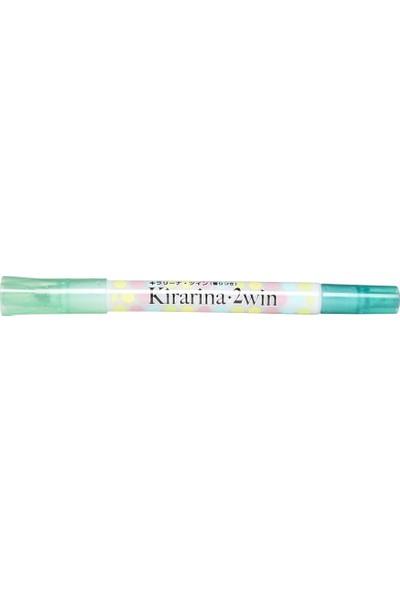 Kirarina Çift Uçlu Fosforlu Kalem - Mint