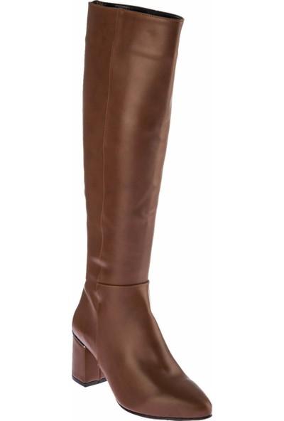 Fox Shoes Taba Kadın Çizme E518011409