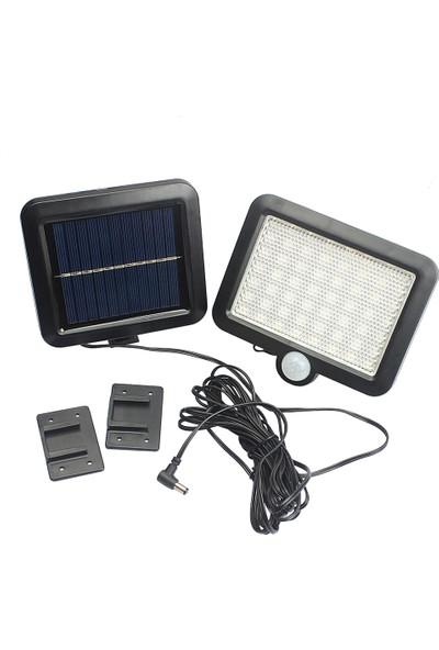 Westinghouse Güneş Enerjili 56 Led Li Bahçe Aydınlatma Solar Dış Mekan Lambası Hareket Sensörlü