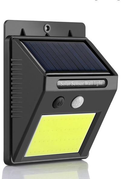 Generic Güneş Enerjili Bahçe Lambası 48 Ledli Solar Bahçe Ve Duvar Aydınlatma