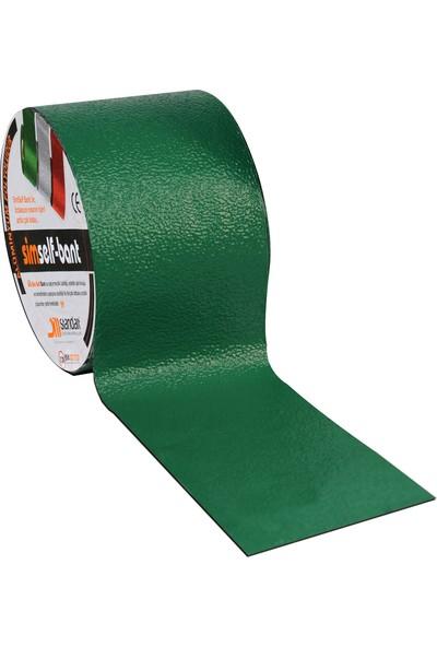 Standart Simself Bant Renkli Alüminyum Folyolu Yeşil (100Cm)