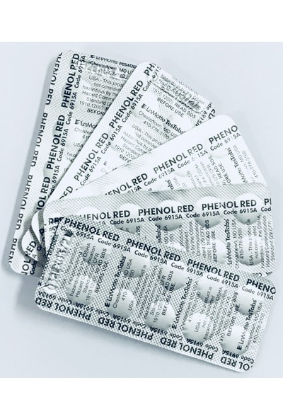 Lamotte Havuz Suyu Ph Ölçüm Tableti 5 Li Paket