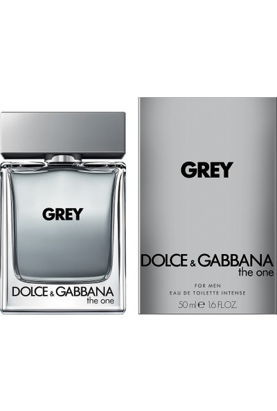 Dolce Gabbana The One For Men Grey Intense Edt 50 Ml