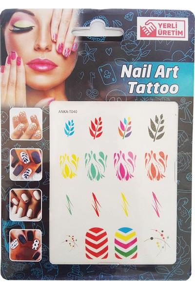 Nail Art Tattoo ( Tırnak Dövmesi )