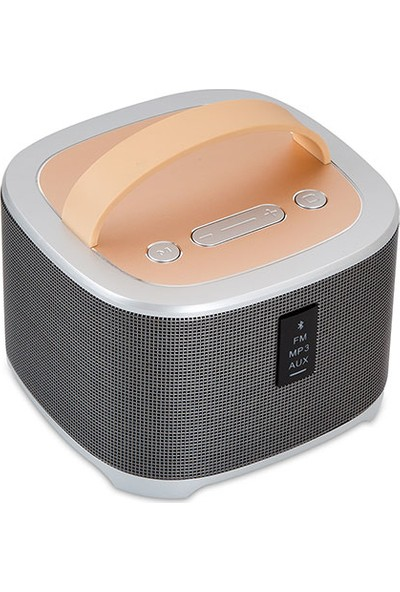 Mikado Bt-3100 Usb+Aux+Sd+Fm Destekli 7.5W*2 Rms 2000Mah Bluetooth Speaker