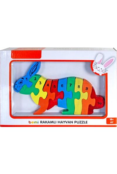 Bemi 3D Rakamlı Tavşan Puzzle
