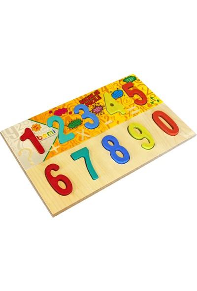 Bemi Rakamlar Puzzle Ahşap