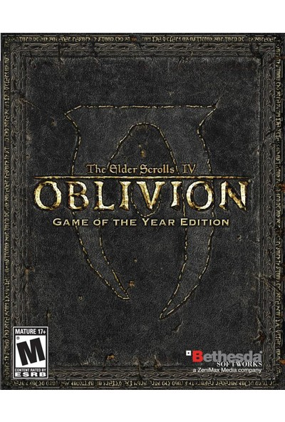 Steam The Elder Scrolls Iv: Oblivion® Game Of The Year Edition Deluxe