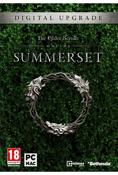 Zenimaxonline(Eso) The Elder Scrolls Online: Summerset - Upgrade Edition
