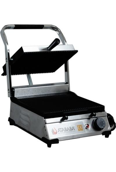 Atababa 8 Dilim Ev ve Sanayi Tipi Döküm Tost Makinası Çelik (i̇nox)