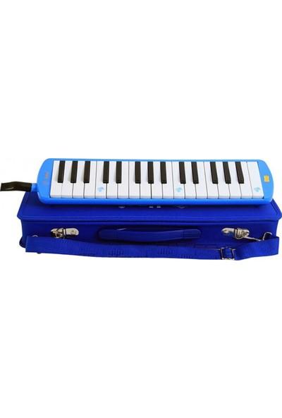 Lino Melodika 37 Tuşlu Çantalı Mavi
