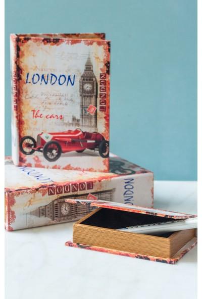 Arma House London Kitap Şeklinde 3'lü Kutu