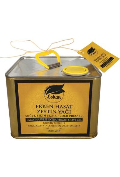 Lohan Erken Hasat Soğuk Sıkım Sızma Zeytinyağı 2 lt