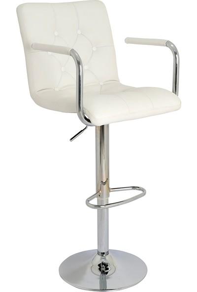 Boombar Helen Bar Sandalyesi Beyaz 9519Q0109