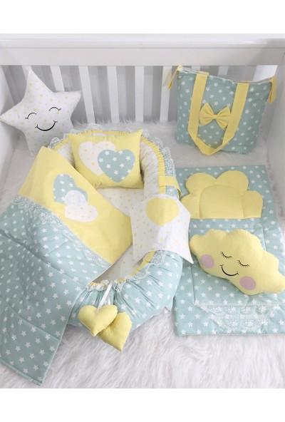 Jaju Baby Babynest Çanta Ve Alt Açmalı Lüx Set Baby Nest
