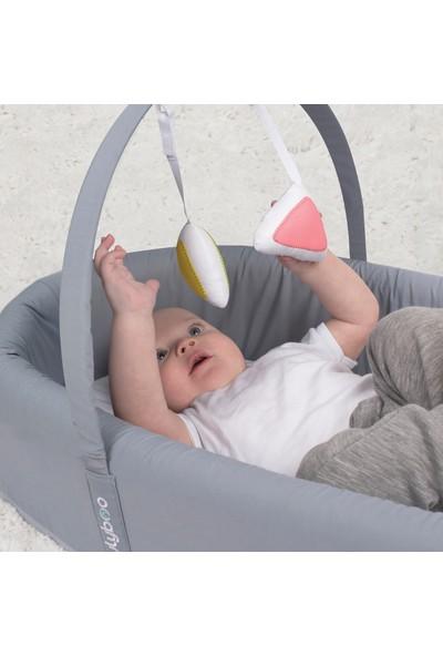 Lulyboo Bebek Yatağı Pink Metro