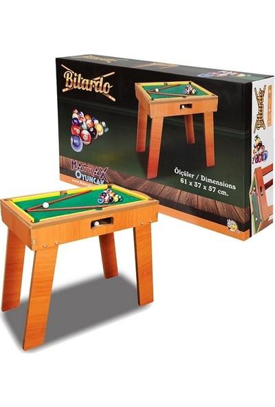 Matrax Oyuncak Oyuncak Ahşap Bilardo Oyunu
