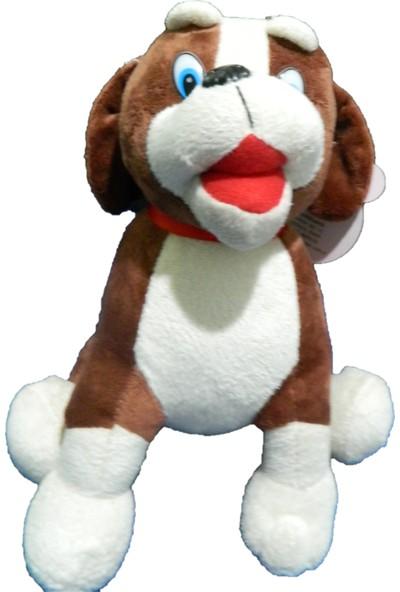 Kızılkaya Peluş Oturan - Köpek 25 cm