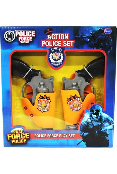 Mega Oyuncak Polis Seti 2 Adet Silah Ve Kemerlikleri