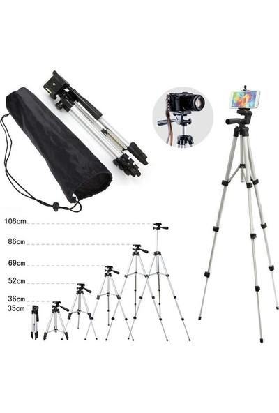 Azr 3110 102 Cm Katlanabilir Telefon Kamera Tripod