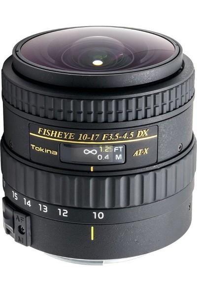 Tokina Af 10-17Mm F3.5 - 4.5 Atx Nh Lens -Canon Uyumlu