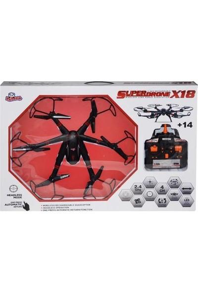 Vardem Uzaktan Kumandalı Superdrone X18 Helikopter Drone