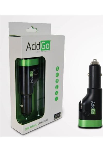 AddGo 6 Fonksiyonlu Araç Şarjı